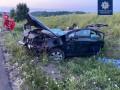 В аварии на трассе Киев-Одесса погибла пассажирка и пострадали дети