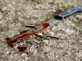 В Крыму мужчина ударил ножом друга из-за Кемерово
