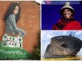 День в фото: Мурал в Днепре, Обама в традиционном костюме и обломки танкера