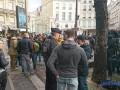 Ветеранов АТО в Париже задержала полиция