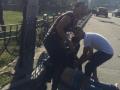 Конфликт с киевской полицией обернулся смертью цыгана под колесами авто