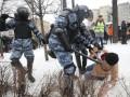 Возросло число задержанных на митингах в России