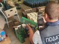Под Киевом накрыли цех по изготовлению поддельного алкоголя
