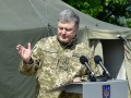 Порошенко об отмене АТО: Украина будет беззащитной