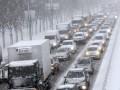 Водителей предупредили о заснеженных дорогах в нескольких областях