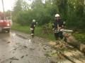На Закарпатье ураган посрывал крыши с сотни домов