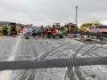 В Германии столкнулись полсотни авто