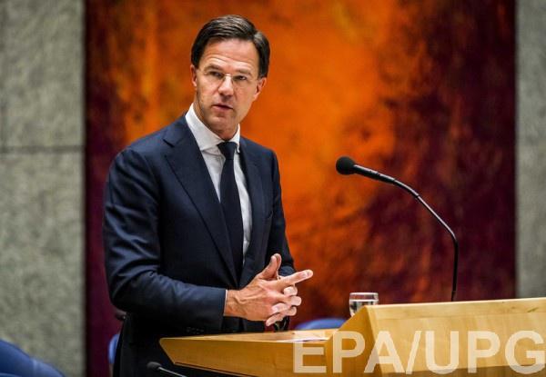 Марк Рютте заявил, что правительство предпринимает такие шаги исключительно по просьбе Генеральной прокуратуры