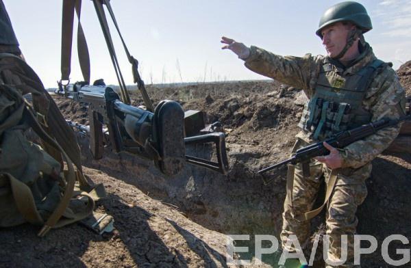 В результаты боїв постраждали українські війскові
