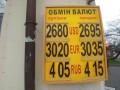 НБУ опустил курс гривны: Курсы валют на 16 апреля