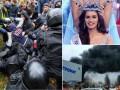 Итоги выходных: потасовки в Одессе, новая Мисс Мира и пожар в столичном ТЦ