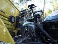 В Германии пожилой водитель врезался в велосипедистов
