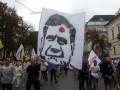 Милиция открыла уголовное производство на активиста, у которого изъяли футболки с лицом Януковича с точкой на лбу