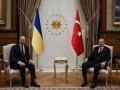 Шмыгаль провел встречу с Эрдоганом