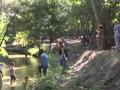 В Киеве очистили реку, в которой Владимир крестил Русь