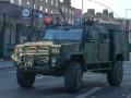 У шведских военных угнали два броневика