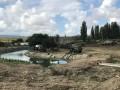 В Крыму российские военные перекрыли реку, чтобы качать воду в Симферополь