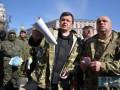 Коханивский и Семенченко проводили бойцов