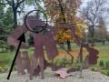 Под Киевом повредили мемориал Небесной Сотне и сорвали флаг
