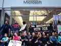 Более 70 протестующих задержали у магазина Microsoft в Нью-Йорке