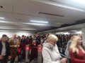 Транспортный коллапс: На станции киевского метро