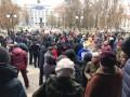 Херсонцы протестуют: Маршрутчики отказались возить пассажиров за 4 гривны