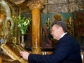 В Иерусалиме Янукович посетил могилу Богородицы