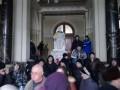 Глава Полтавской ОГА отказался сложить полномочия по требованию митингующих