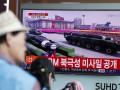 КНДР на параде впервые показала ракеты для субмарин