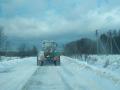 Во Львовской области частично перекрыт проезд транспорта