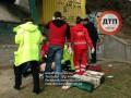 В Киеве на улице повесился мужчина