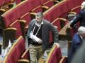 Раненый Мосийчук выступил в Раде с призывом к борьбе с терроризмом