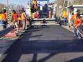 На КПП Тиса на границе с Венгрией ремонтируют дорогу