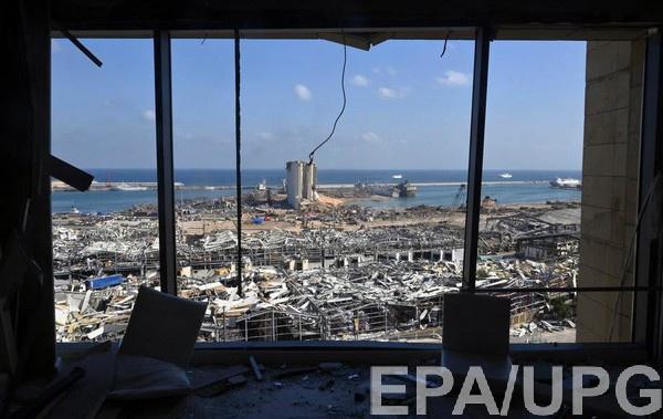 Взрыв в Бейруте произошел 4 августа