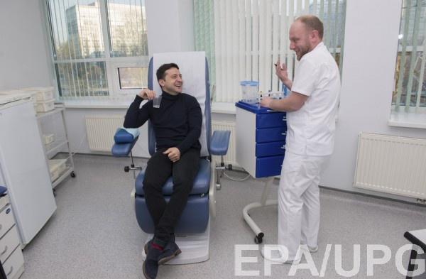 Зеленский показал извинения лаборатории Евролаб за их ошибку