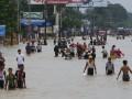 В Мьянме из-за наводнений эвакуировали более 50 тысяч человек