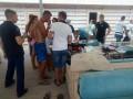 В Коблево случился пожар на пляже: пострадала женщина