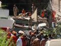 В Рио-де-Жанейро обрушились два дома, есть жертвы