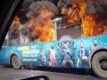 В Одессе во время движения дотла сгорел троллейбус