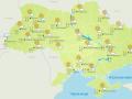 В Украине продолжается потепление
