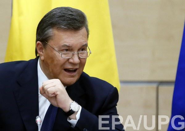 Допрос Януковича пройдет 25 ноября