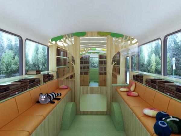 ВКиеве появится автобус-библиотека