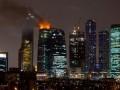 Вчерашний пожар в Москва-Сити может обойтись страховщикам в треть миллиарда долларов