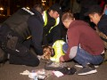 Нападение на полицию в центре Киева: подробности