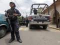 Мексиканские бандиты застрелили троих полицейских