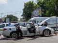 В Киеве на Печерске взорвалась машина
