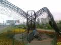 На Позняках в Киеве сожгли скульптуру орла