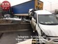 Утренняя авария фуры в Киеве: Появилось видео впечатляющего ДТП