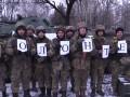 Охраняет, как ангел: бойцы АТО поздравили волонтеров с праздником