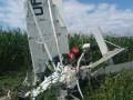 Дельтаплан с двумя мужчинами рухнул во двор села под Черновцами